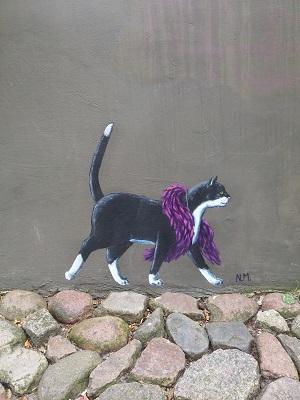 Streetart-Mieze